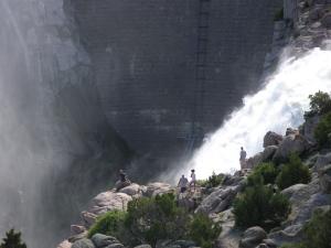 Pathfinder Dam Spillway