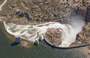 Aerial Shot Pathfinder Spillway 2010