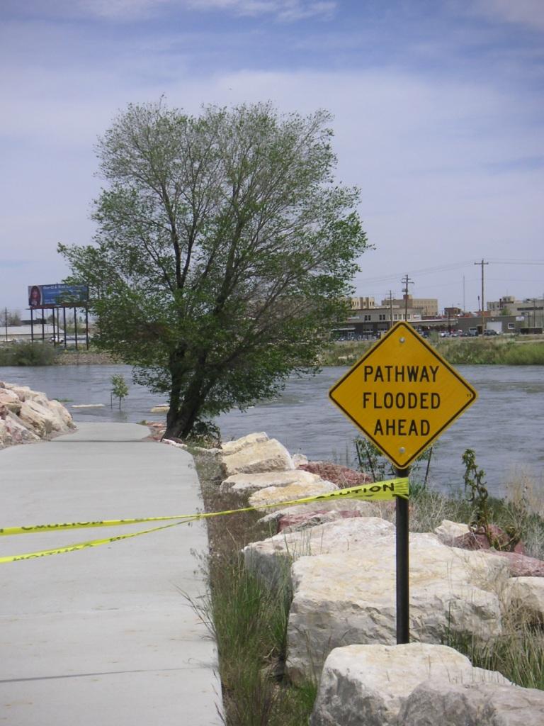 Platte River Parkway Under Water