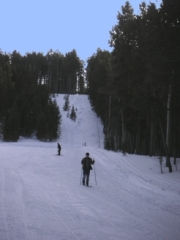 Cross Country Skiing in Wyoming