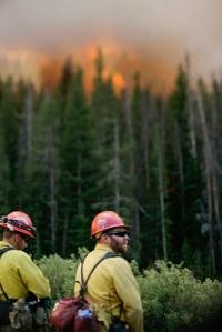 Bridger Teton Firefighters, Wyoming