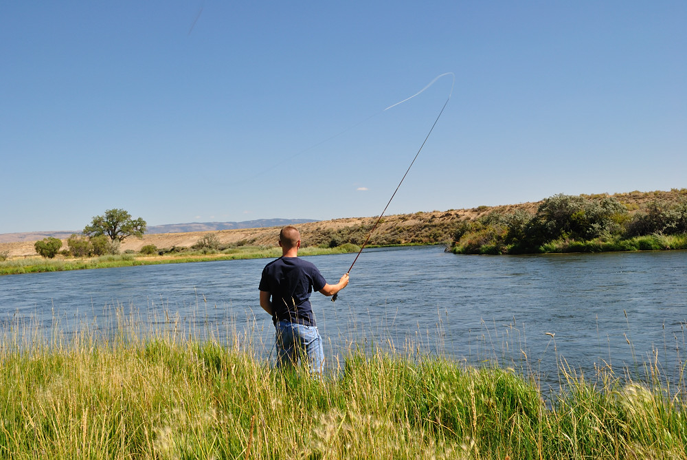 fly fishing wyoming summer