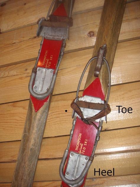Old Nordic Ski Binding
