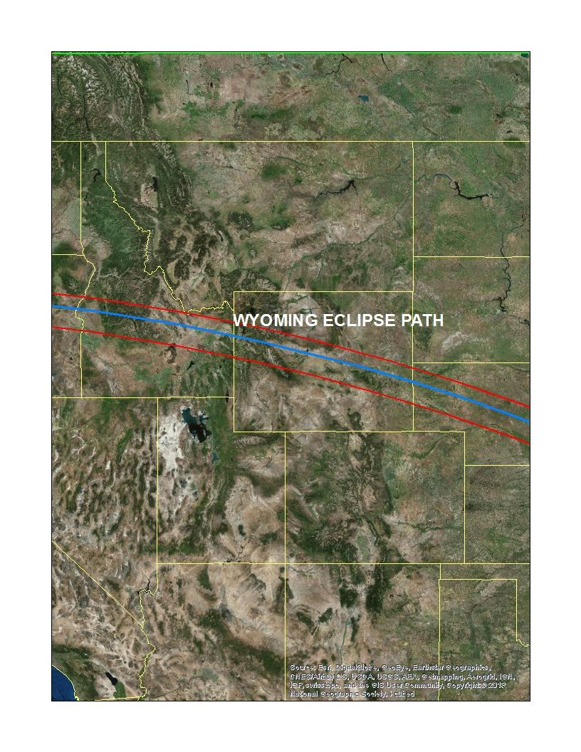 Solar Eclipse Path 2017