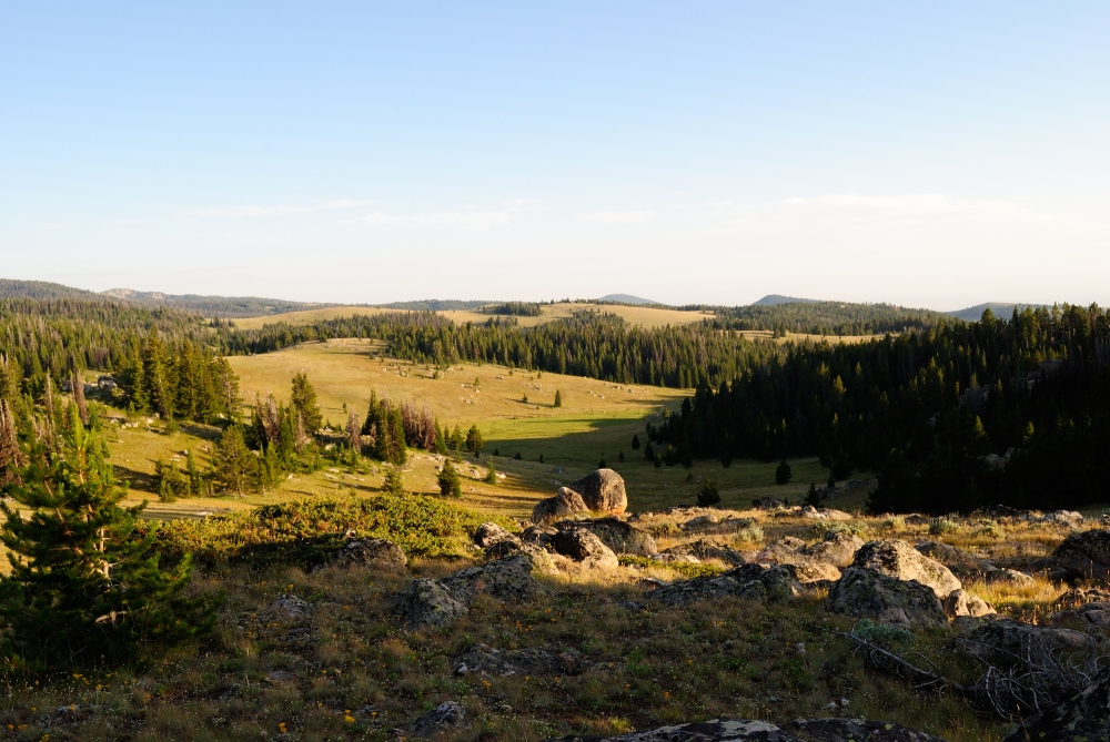 wyoming high country